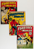 Golden Age (1938-1955):Horror, Forbidden Worlds Group (ACG, 1954-59) Condition: Average FN....(Total: 11 Comic Books)