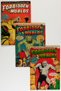 Golden Age (1938-1955):Horror, Forbidden Worlds Group (ACG, 1952-59) Condition: Average VG....(Total: 29 Comic Books)