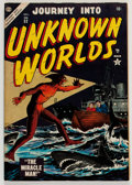 Golden Age (1938-1955):Science Fiction, Journey Into Unknown Worlds #32 (Atlas, 1954) Condition: FN+....