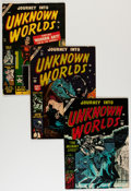 Golden Age (1938-1955):Horror, Journey Into Unknown Worlds Group (Atlas, 1953-54).... (Total: 10Comic Books)