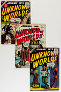 Golden Age (1938-1955):Horror, Journey Into Unknown Worlds Group (Atlas, 1955-57).... (Total: 19Comic Books)
