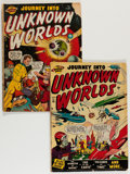 Golden Age (1938-1955):Horror, Journey Into Unknown Worlds #36 (#1) and 37 (#2) Group (Atlas,1950).... (Total: 2 Comic Books)