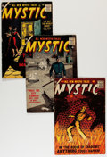 Golden Age (1938-1955):Horror, Mystic Group (Atlas, 1956-57).... (Total: 7 Comic Books)