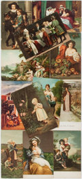 Miscellaneous:Postcards, [Postcards]. Collection of Approximately 12 Postcards FeaturingEuropean Paintings. All measure about 5.5 x 3.5 inches. All ...