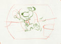 "Animation Art:Production Drawing, Charlie Brown/Peanuts Ford Falcon Commercial ""Snoopy""Production Drawing Group (Playhouse Pictures, c. early 1960s)....(Total: 7 Items)"