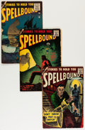 Golden Age (1938-1955):Horror, Spellbound and Others Golden Age Comics Group (Various Publishers,1950s).... (Total: 7 Comic Books)