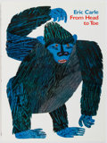 Books:Children's Books, Eric Carle. SIGNED. From Head to Toe. HarperCollins, 1997.First edition. Signed by the author on the title page. ...