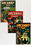 Golden Age (1938-1955):Horror, Uncanny Tales #5-7 and 9 Group (Atlas, 1952-53).... (Total: 4 ComicBooks)