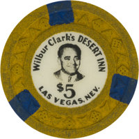 Las Vegas Casino Chips: Desert Inn $5 Chip