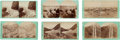 Photography:Stereo Cards, Stereoviews: Six Utah Scenes by Carter and Savage.... (Total: 6 )