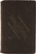 Books:Business & Economics, Pacific Coast Mining Review and Stock Ledger, 1878-1879. 8vo....