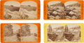 Photography:Stereo Cards, Stereoviews: Four Union Pacific & California Railroad Views.. ... (Total: 4 )