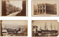Photography:CDVs, Cartes de Visite: Four Early Scenes of San Francisco.... (Total: 4 Items)