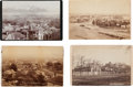 Photography:Cabinet Photos, Cabinet Card: Four Scenes of Salt Lake City.... (Total: 4 Items)