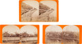 Photography:Stereo Cards, Stereoviews: Three C. R. Savage Photographic Views of Utah.... (Total: 3 )