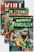 Bronze Age (1970-1979):Horror, Marvel Bronze Age Horror Comics Group (Marvel, 1970s) Condition:Average VF-.... (Total: 7 Comic Books)