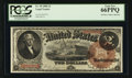 Large Size:Legal Tender Notes, Fr. 50 $2 1880 Legal Tender PCGS Gem New 66PPQ.. ...