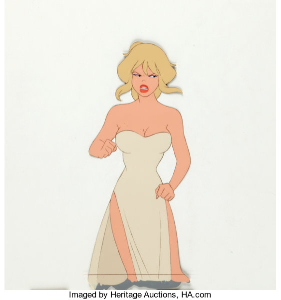 Cool World Holli Would Production Cels Rough Draft Studios