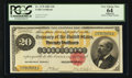 Large Size:Gold Certificates, Fr. 1178 $20 1882 Gold Certificate PCGS Apparent Very Choice New64.. ...