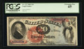 Large Size:Legal Tender Notes, Fr. 127 $20 1869 Legal Tender PCGS Extremely Fine 45.. ...
