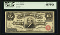 Large Size:Silver Certificates, Fr. 291 $10 1886 Silver Certificate PCGS Extremely Fine 45PPQ.. ...
