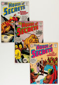 Silver Age (1956-1969):Horror, House of Secrets Group (DC, 1961-65) Condition: Average GD+ exceptas noted.... (Total: 18 Comic Books)