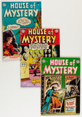 Silver Age (1956-1969):Horror, House of Mystery Group (DC, 1953-61) Condition: Average GD+....(Total: 14 Comic Books)