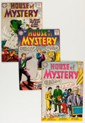Silver Age (1956-1969):Horror, House of Mystery Group (DC, 1957-61) Condition: Average VG/FN....(Total: 21 Comic Books)