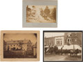 Photography:Studio Portraits, Albumen Photographs: Three Stagecoach Scenes.... (Total: 3 Items)
