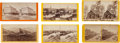 Photography:Stereo Cards, Stereoviews: Six Early Scenes of Stockton and Yosemite California.... (Total: 6 )