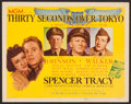 "Movie Posters:War, Thirty Seconds Over Tokyo (MGM, 1944). Title Lobby Card (11"" X14""). War.. ..."