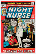 Bronze Age (1970-1979):Romance, Night Nurse #1 (Marvel, 1972) Condition: FN/VF....