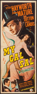 "Movie Posters:Musical, My Gal Sal (20th Century Fox, 1942). Insert (14"" X 36""). Musical....."