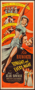 "Movie Posters:Musical, Tonight and Every Night (Columbia, 1945). Insert (14"" X 36"").Musical.. ..."