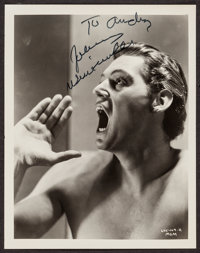 "Johnny Weissmuller (MGM, 1936). Autographed Photo (8"" X 10""). Adventure"