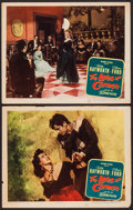 "Movie Posters:Drama, The Loves of Carmen (Columbia, 1948). Lobby Cards (2) (11"" X 14""). Drama.. ... (Total: 2 Items)"