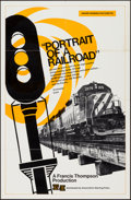 "Movie Posters:Documentary, Portrait of a Railroad (Association - Sterling Films, 1973). Poster(22"" X 34""). Documentary.. ..."