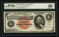 Large Size:Silver Certificates, Fr. 261 $5 1886 Silver Certificate PMG Extremely Fine 40 Net.. ...