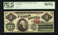 Fr. 41 $2 1862 Legal Tender PCGS Choice About New 58PPQ