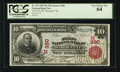 National Bank Notes:Michigan, Marquette, MI - $10 1902 Red Seal Fr. 613 The First NB Ch. # (M)390. ...