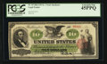 Large Size:Legal Tender Notes, Fr. 93 $10 1862 Legal Tender PCGS Extremely Fine 45PPQ.. ...