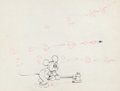 Animation Art:Production Drawing, Mickey's Service Station Mickey Mouse Production Drawing(Walt Disney, 1935)....