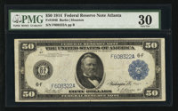 Fr. 1046 $50 1914 Federal Reserve Note PMG Very Fine 30