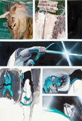 Original Comic Art:Panel Pages, Bill Sienkiewicz Electra: Assassin #2 Page 7 Original Art(Marvel, 1986)....
