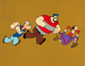 Animation Art:Production Cel, The All New Popeye Hour Publicity Cel (Hanna-Barbera, 1978).... (Total: 2 Items)