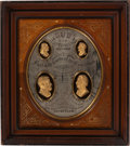 Political:3D & Other Display (pre-1896), Grant & Wilson: Impressive Shadow-Box Display....