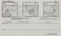 "Animation Art:Production Drawing, SWAT Kats ""Metal Urgency"" Storyboard Group (Hanna-Barbera,1993).... (Total: 235 Items)"