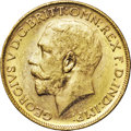 Australia, Australia: George V gold Sovereign 1914-M,...