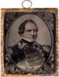Photography:Ambrotypes, Winfield Scott: Ambrotype Wall Hanging. ...