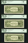 Fr. 1912-K $1 1981A Federal Reserve Note. PCGS Choice About New 58